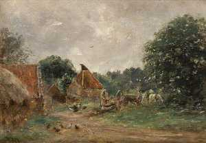 William Darling Mckay - The Mill at Spilmersford