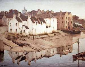 Charles Oppenheimer - Early Morning, a Solway Port