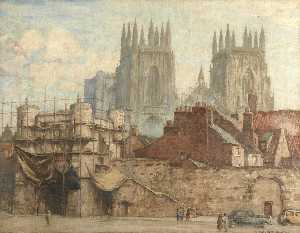 Charles Oppenheimer - Approach to York Minster