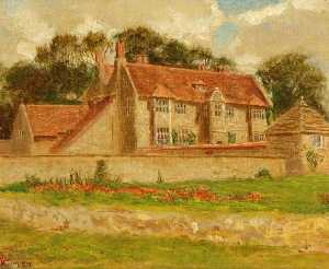 Kate Allen Tryon - Upham House at Upper Upham, Wiltshire