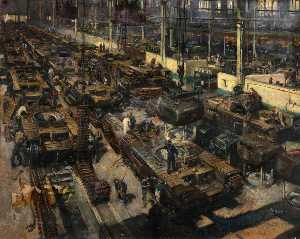 Terence Tenison Cuneo - Production of Tanks