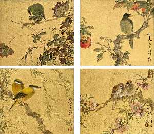 Deng Fen - Flowers and Birds