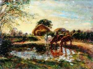 William Mark Fisher - The Farm Pond