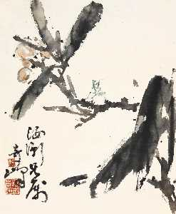 Gao Qifeng - Loquat and Mantis