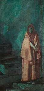Walter Richard Sickert - Fabia Drake, as Lady Macbeth