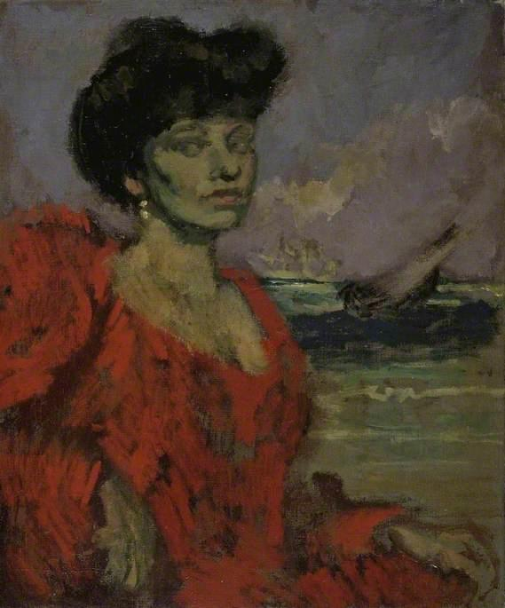 famous painting Mrs Swinton of Walter Richard Sickert