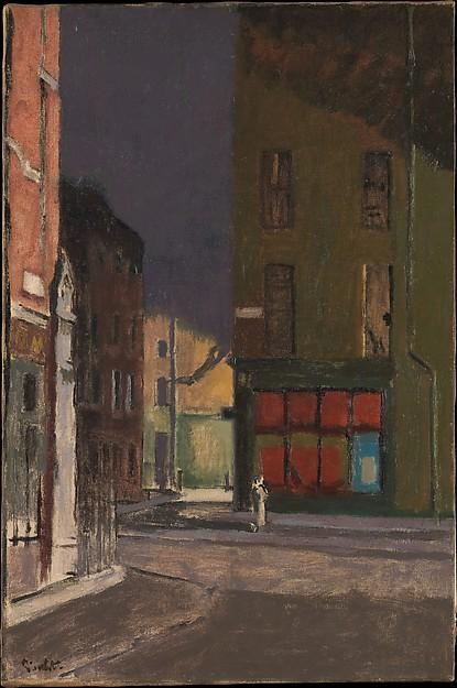 famous painting Maple Street, London of Walter Richard Sickert