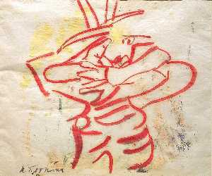 Willem De Kooning - Lobster Woman