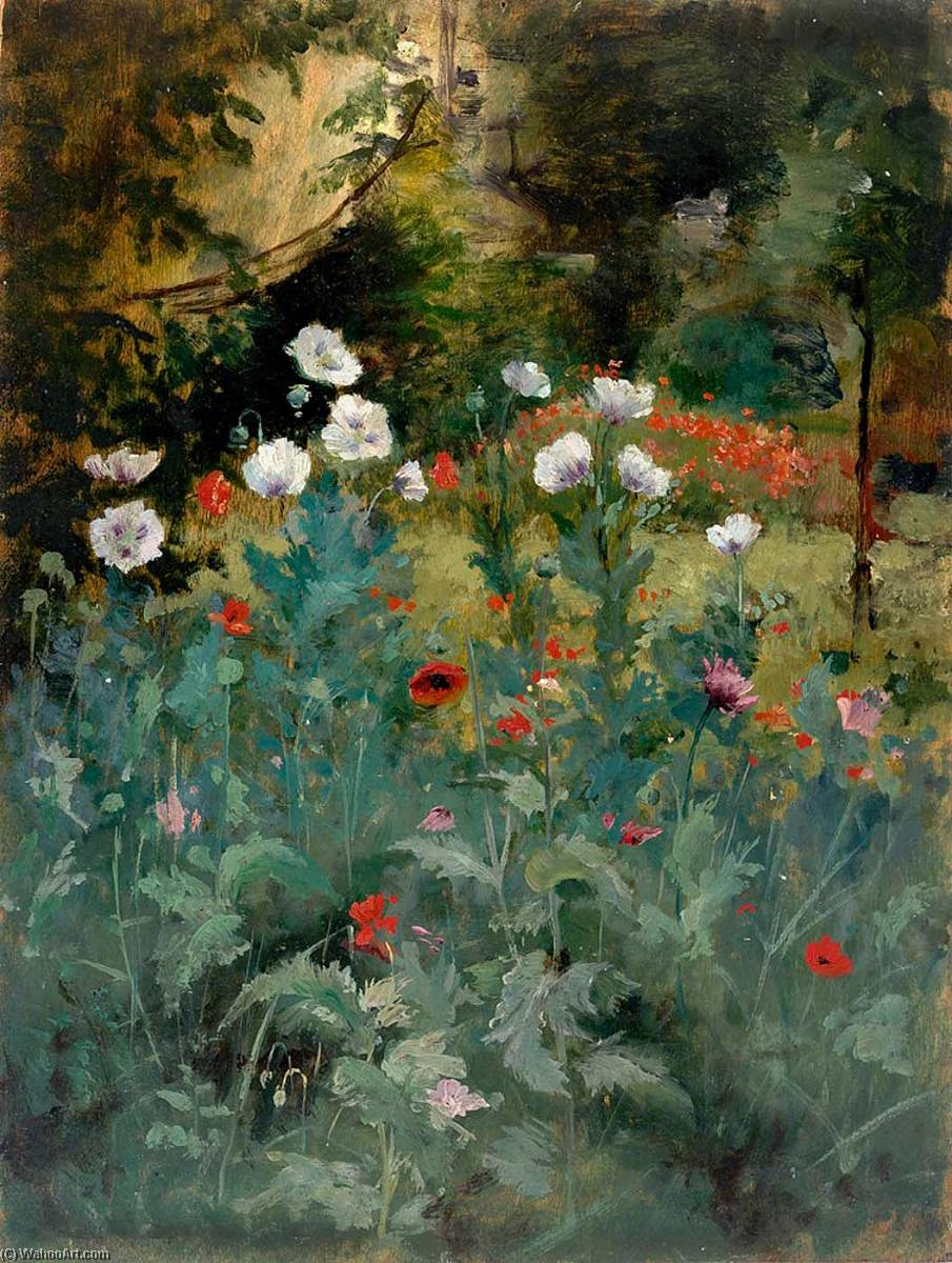 famous painting Poppies of Eliphalet Fraser Andrews