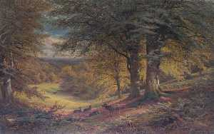 Alfred Augustus Glendening - Under the Beeches