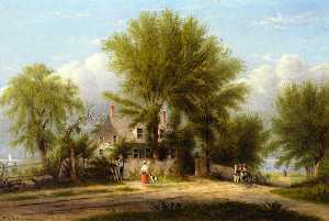 William Rickarby Miller - Hapelyea House, A Long Island Homestead