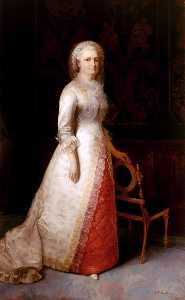 Eliphalet Fraser Andrews - Martha Dandridge Curtis Washington (Mrs. George Washington)