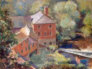 Albert Walker - Old Linen Mill, Knaresborough