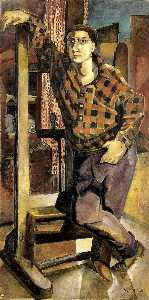 Marguerite Zorach - Portrait of Bill (Bill Zorach)