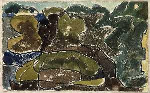 Arthur Garfield Dove - Over the Harbor, Centerport
