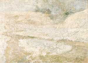 John Henry Twachtman - The Brook, Greenwich, Connecticut