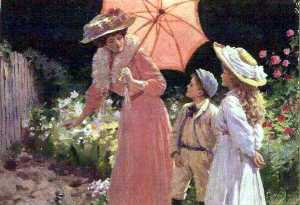 Percy Tarrant - Lady with a Parasol