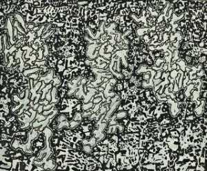 Jean Philippe Arthur Dubuffet - Landscape with Three Figures
