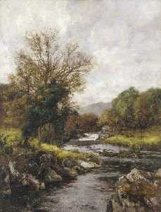 Richard Gay Somerset - The Trout Stream