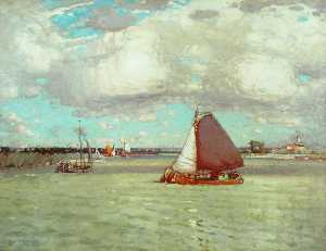 Moffat Peter Lindner - A Dutch River