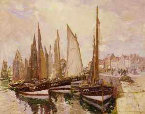 Robert Mcgown Coventry - The Harbour, Pittenweem