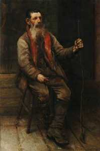 Leonard Frank Skeats - Harry 'Brusher' Mills (1840–1905), New Forest Snake Catcher