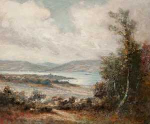Peter Kerr - The Hillside above Gourock