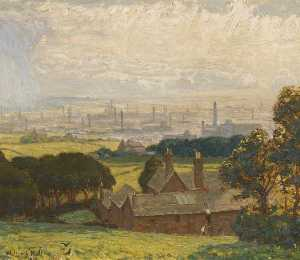 Walter J Hall - Cinderhill, near Gorsey Brow, Bury