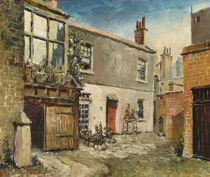 Herbert W Wright - Old Slaughter House, Notting Hill Gate