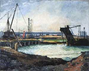 Albert Edward Wade - Last of Pie Jetty, Grimsby Fish Dock, Lincolnshire