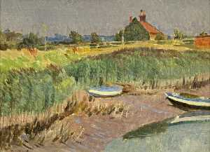 Norman Alexander Buchanan - From the Sluice at Snape
