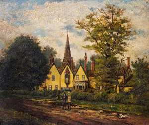Herbert John Rylance - Allesley from the Coventry Road, Warwickshire
