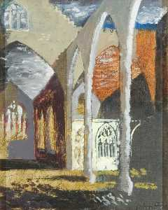 John Piper - The Temple Church, Bristol