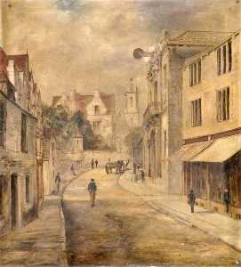 James Walter Gibbs - High Street towards the Town Hall, Swanage, Dorset