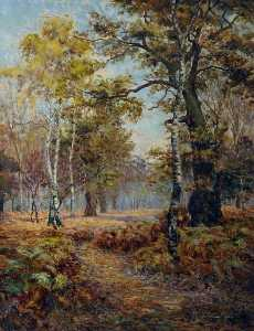 William Maxwell Reekie - Sherwood Forest, Nottinghamshire