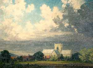 Clive Richard Browne - St Mary's Church, Stow, Lincolnshire