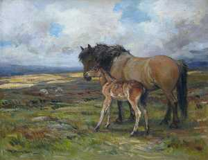 John Murray Thomson - Moorland Mother