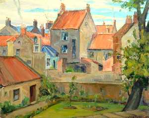 James Alexander Johnstone - Old Houses, Berwick upon Tweed, Northumberland