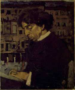 Walter Richard Sickert - Israel Zangwill