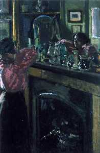 Walter Richard Sickert - The Mantelpiece