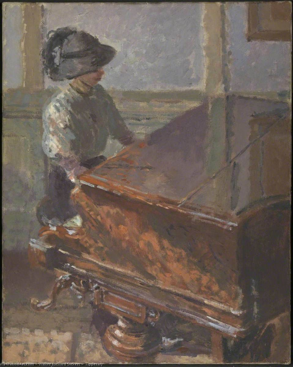famous painting Tipperary of Walter Richard Sickert