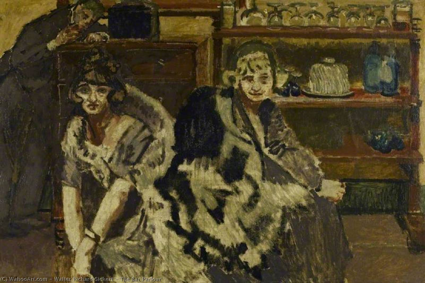 famous painting The Bar Parlour of Walter Richard Sickert