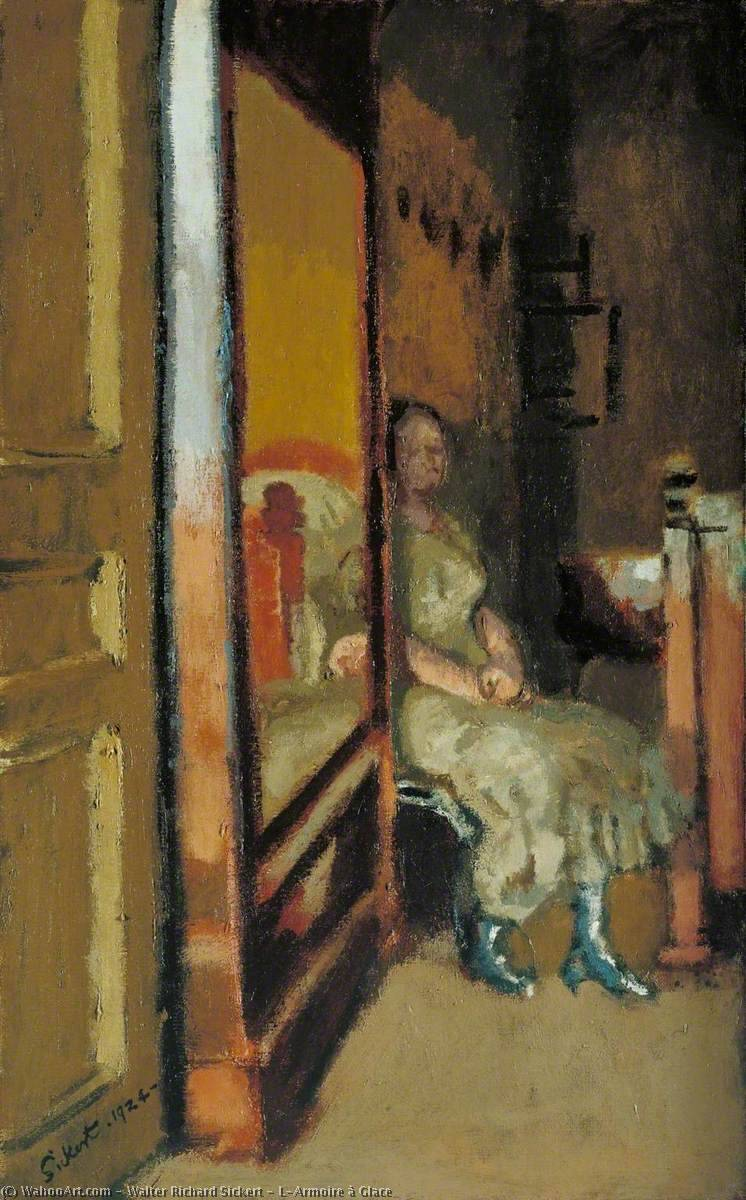 famous painting L'Armoire à Glace of Walter Richard Sickert