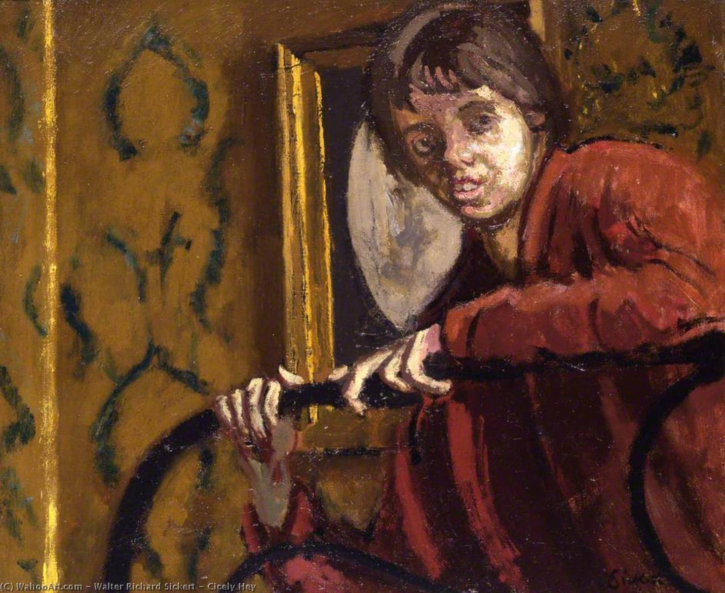 Order Reproductions Impressionism | Cicely Hey by Walter Richard Sickert | TopImpressionists.com