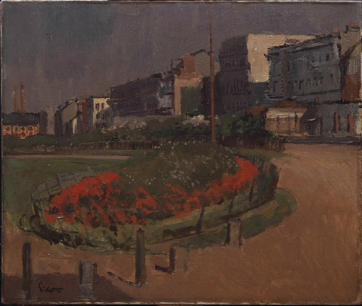famous painting Boulevard Aguado of Walter Richard Sickert