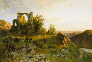 Hugo Darnaut - Dürnstein on the Danube