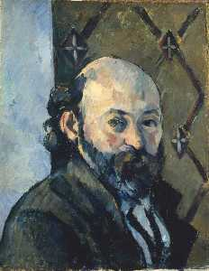 Roger Eliot Fry - Self Portrait (copy after Paul Cézanne)