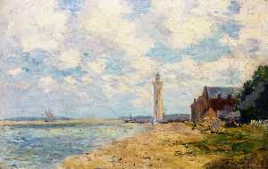 Albert-Charles Lebourg (Albert-Marie Lebourg) - The Mouth of the Seine, Honfleur