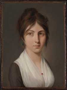 Louis Léopold Boilly - Portrait of a Young Woman
