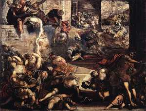 Jacopo Tintoretto - The Massacre of the Innocents